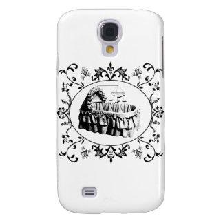Gothic Batty Bassinet Samsung Galaxy S4 Cases