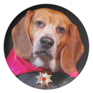 Gothic Beagle, dogula vampire plate