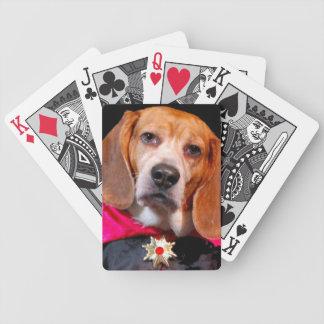 Gothic Beagle, dogula vampire playing cards