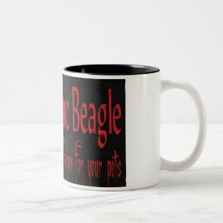 Gothic Beagle Mug