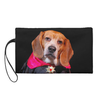 Gothic Beagle Wristlet purse