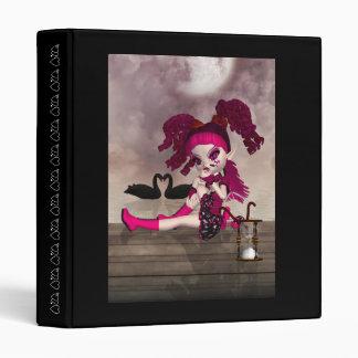 Gothic Binder - Cute Gothic Cupid Doll