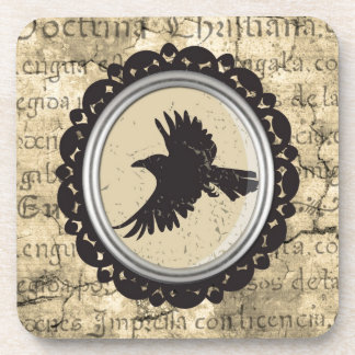 Gothic Bird Drinking Coaster - Set of 6