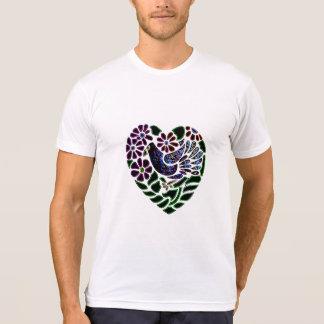 Gothic Bird in Heart Shirts