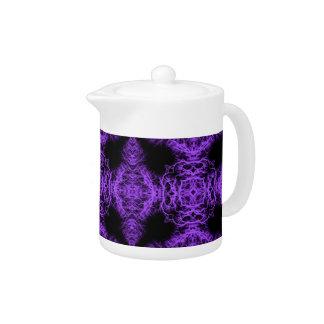 Gothic Black and Purple Design.
