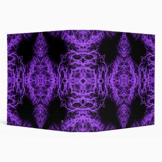 Gothic Black and Purple Design. Binder