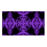 Gothic Black and Purple Design. Business Card