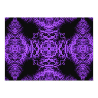 Gothic Black and Purple Design. Card