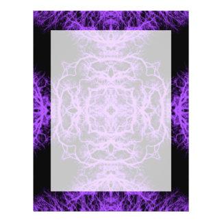 Gothic Black and Purple Design. Flyer