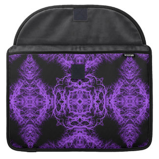 Gothic Black and Purple Design. Sleeves For MacBooks