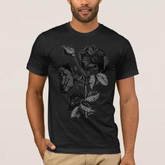 Gothic Black Antique Rose T-Shirt