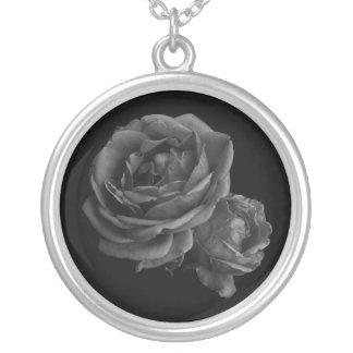 Gothic Black Roses Custom Jewelry