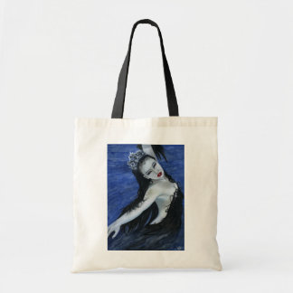 Gothic black swan beauty Bag
