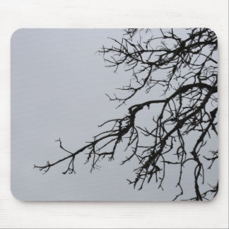 Gothic Branches Mouse Pad