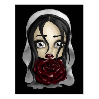 Gothic Bride Postcard