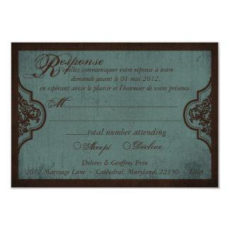 Gothic Bride RSVP Card_Dolores2 Announcements