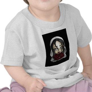 Gothic Bride Tee Shirts