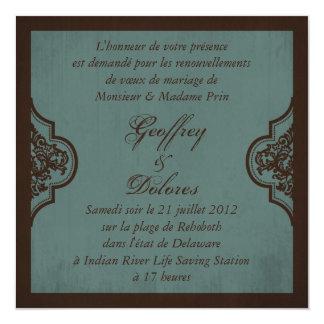 Gothic Bride Wedding Invite Square_Dolores