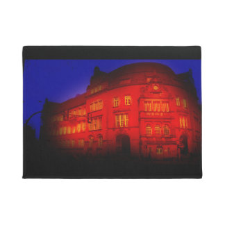 gothic building from germany mystical view doormat
