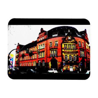 gothic building from germany posterized magnet