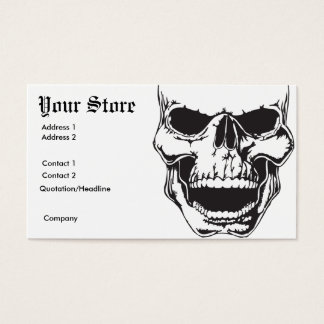 Gothic Business Card 2