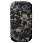 Gothic Camo Skull Camouflage Samsung Galaxy SIII Cover