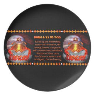 Gothic Cancer zodiac astrology valxart.com Plate