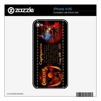 Gothic Capricorn-Aquarius zodiac cusp Valxart.com iPhone 4S Decals