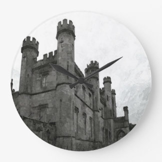 Gothic Castle Large Clock