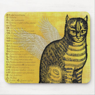 Gothic Cat Mouse Pad