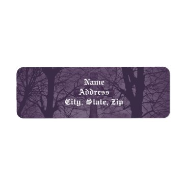 TheHopefulRomantic Gothic celtic cross tombstone dark and spooky label