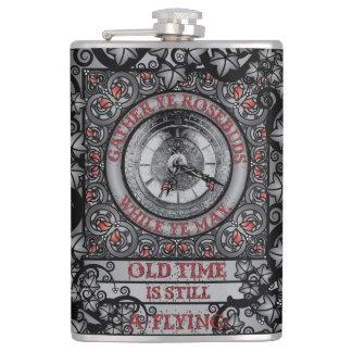 Gothic Celtic Impermanence Hip Flask
