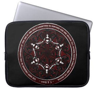 Gothic Celtic Mermaids Laptop Sleeve