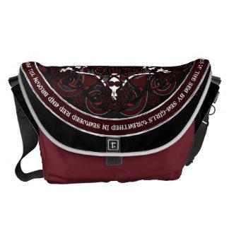 Gothic Celtic Mermaids Messenger Bag