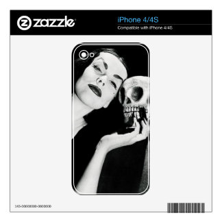 Gothic Chick iPhone 4S Skin