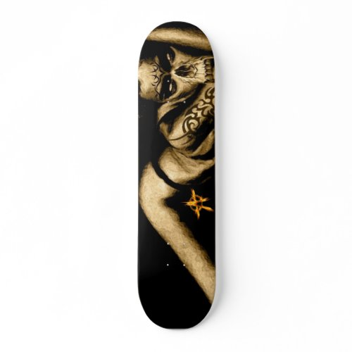 Gothic Chick skateboard