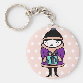 Gothic Christmas Gift Girl Key Chains