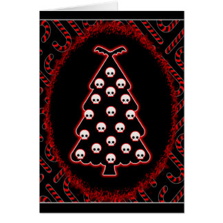 Gothic Christmas Greeting Card