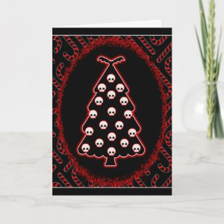 Gothic Christmas Holiday Card