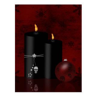 Gothic Christmas - Postcard