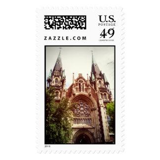 Gothic Church of Saints Olga and Elizabeth Postage Stamps