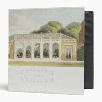 Gothic Conservatory, 1832 3 Ring Binder