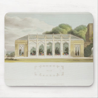 Gothic Conservatory, 1832 Mouse Pad