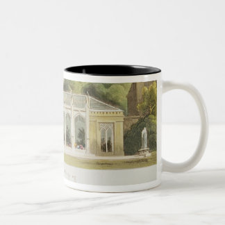 Gothic Conservatory, 1832 Two-Tone Coffee Mug