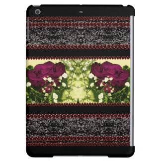 Gothic CricketDiane Roses Victorian Goth Cosplay Cover For iPad Air