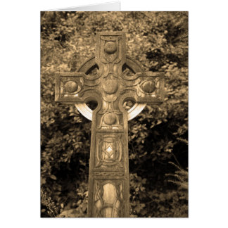 Gothic Cross Card