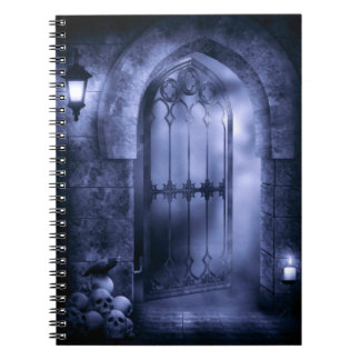 Gothic Crow Gate Notebook