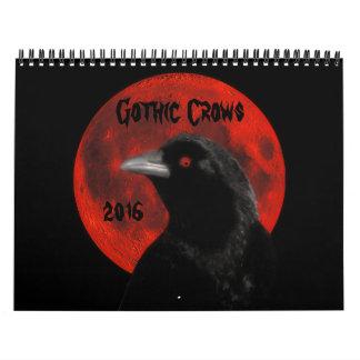 Gothic Crows 2016 Calendar