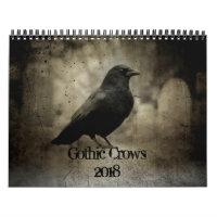 Gothic Crows 2018 Calendar
