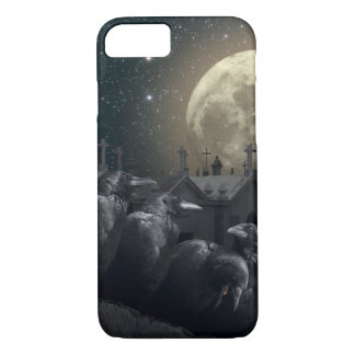 Gothic Crows Barely There iPhone 7 Case